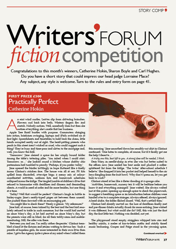 Writers' Forum: Short story contest